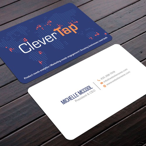 Fresh New Business Cards For Software Company Business Card Contest 99designs
