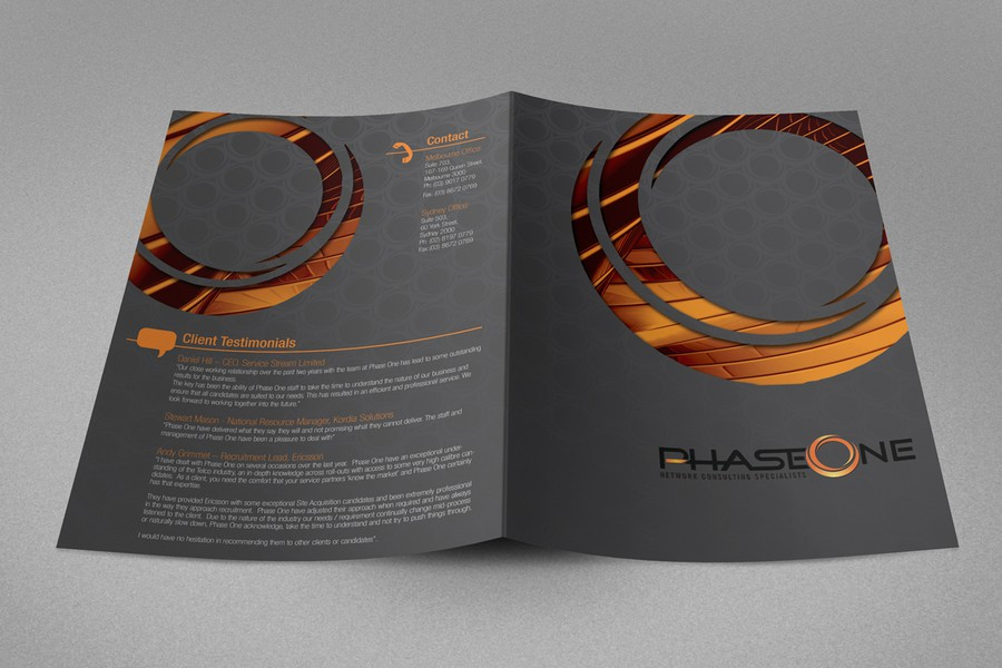 Diseño ganador de 1601creative