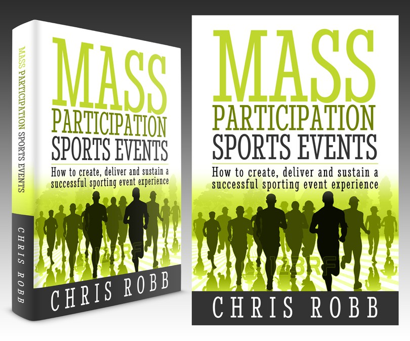 Book Cover Competition ~ Book cover for mass participation sports events
