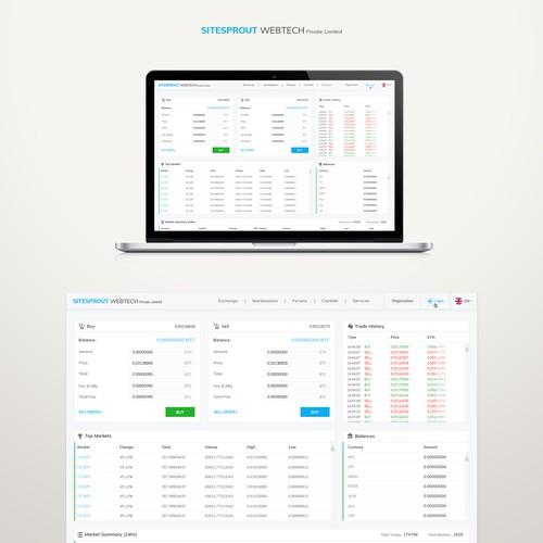 Diseño finalista de WebDecent