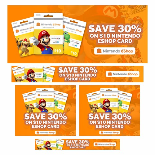 Nintendo Eshop Banners Banner Ad Contest 99designs