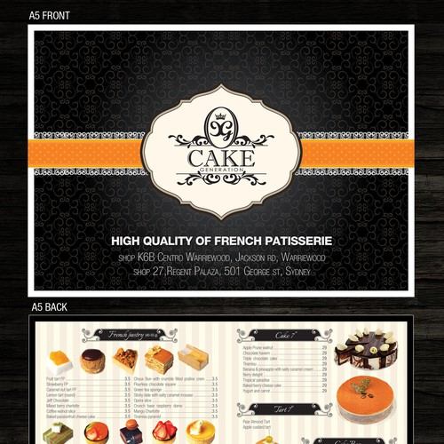 New postcard or flyer wanted for Cake Generation Design by Duca