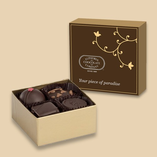 artisan chocolate box design