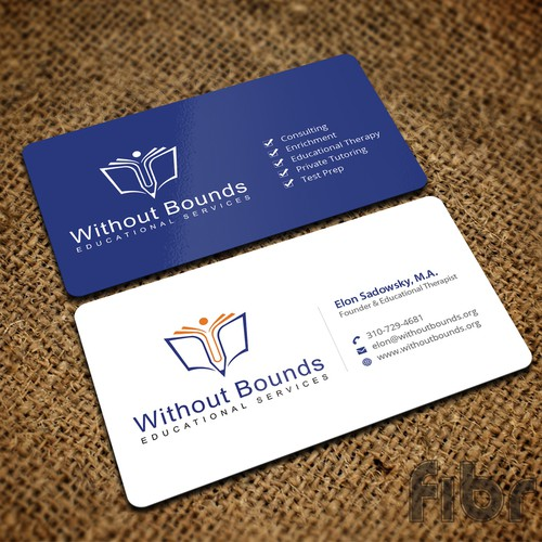 Business cards for without bounds business card contest entries from this contest reheart