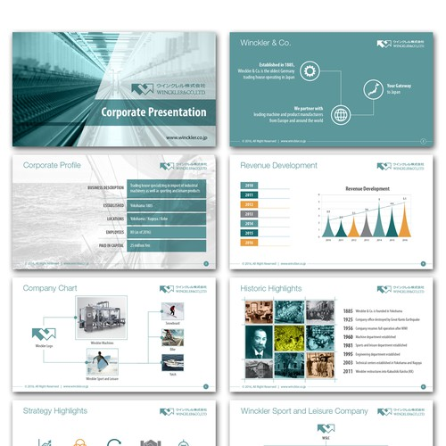 Design A Corporate Powerpoint Presentation  Powerpoint Template Contest