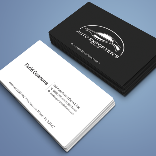 Car dealership business cards needed business card contest runner up design by r4960 colourmoves