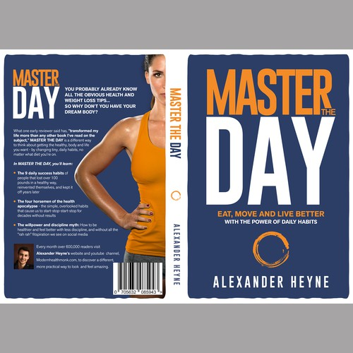 Design a Simple Book Cover for Personal Development Book About