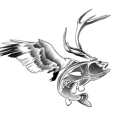 Runner-up design by Red Vortex Studio®