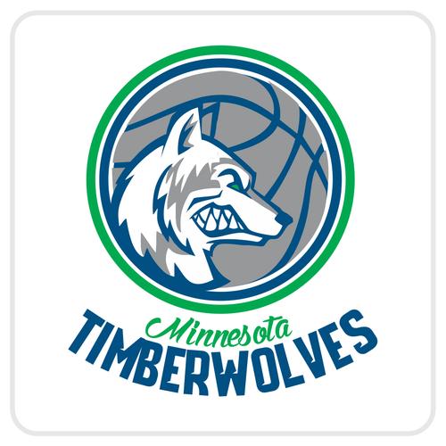 Community Contest: Design a new logo for the Minnesota Timberwolves! Design von Sebas G. grupooma