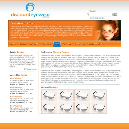 Runner-up design by jQuery