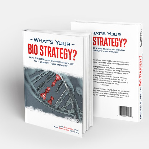Business Book Cover Up : Design a biotech business book cover quot what s your bio