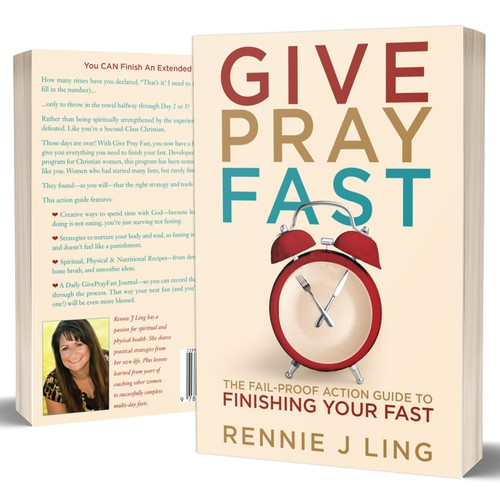 Create a Feminine Cover for Christian Book on Fasting | Book cover