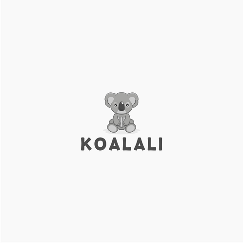 Baby Safety Pads Need A Koala Bear Logo Logo Design