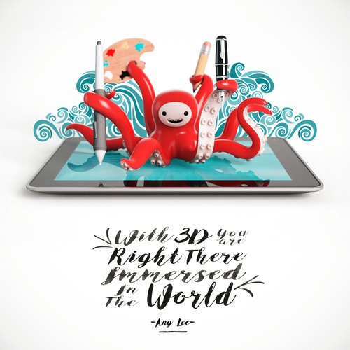 Community Contest | Illustrate your favorite creative quote (multiple winners!) Design by Gustavo Avila