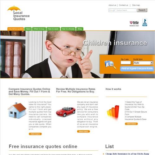 Diseño finalista de gogoserv.com