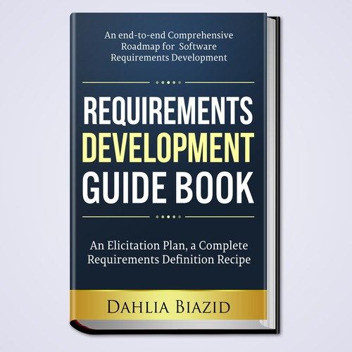 Book Cover Design Requirements ~ Create ebook cover for software requirements guidebook