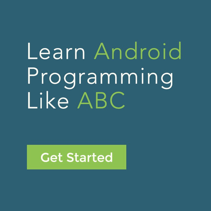 Create a poster for an Android Application Development