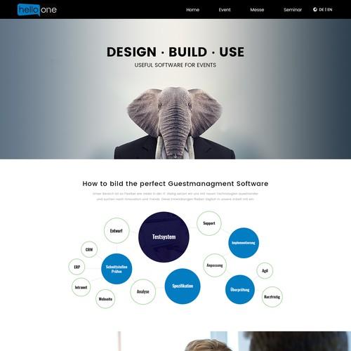 Diseño finalista de Iconic Graphics