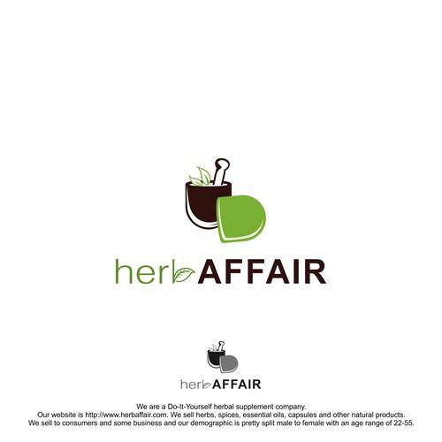 Design a crafty organic logo for herb affair logo design contest runner up design by noerans solutioingenieria Gallery