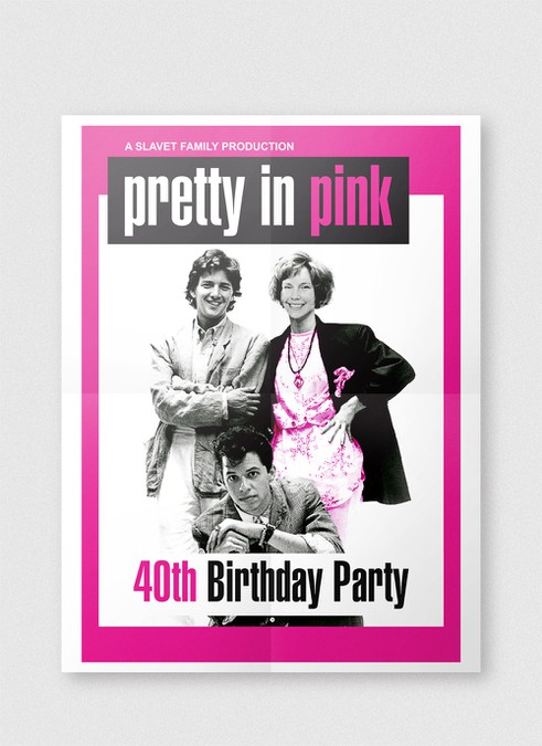 Paperless Post Invite For 80s Themed 40th Bday