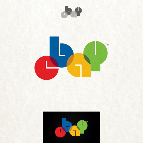 99designs community challenge: re-design eBay's lame new logo! Diseño de pandisenyo