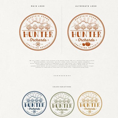 Organic farm seeks logo that evokes a fresh, handmade, yet sophisticated feeling Design by Project 4