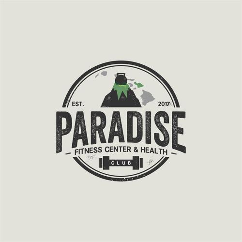 fitness center logo for a facility on maui