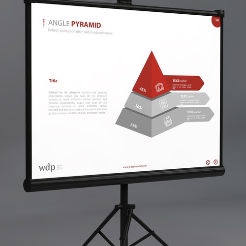 Diseño finalista de iTech Graphics