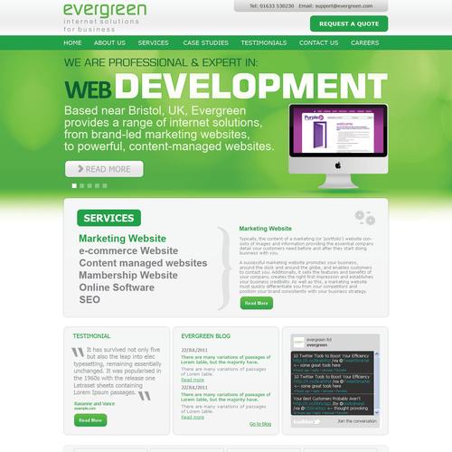 Zweitplatziertes Design von web designer shakil