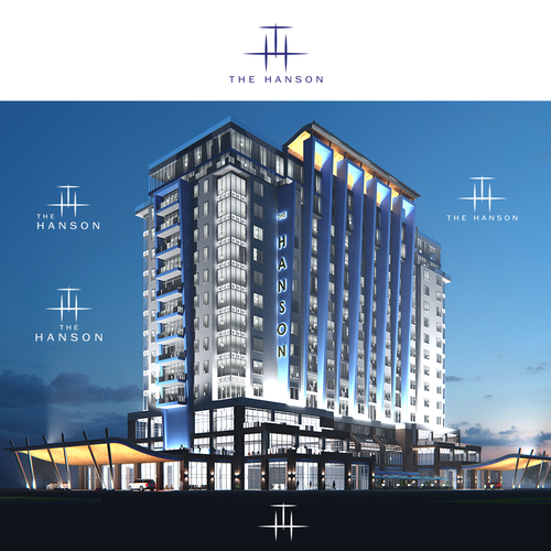 Create a logo for new sophisticated luxurious hotel for Design hotel chain