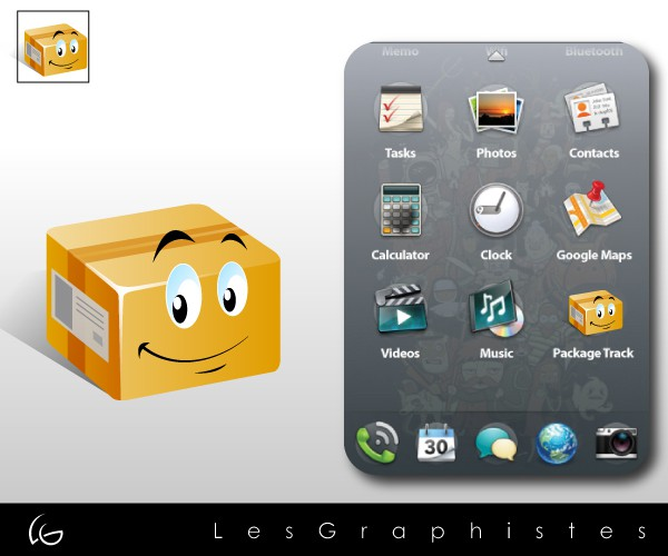 Diseño ganador de Les Graphistes