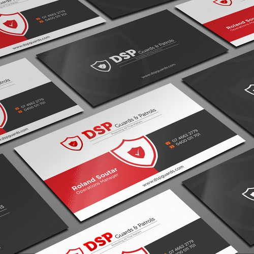 Security Company Business Cards Business Card Contest