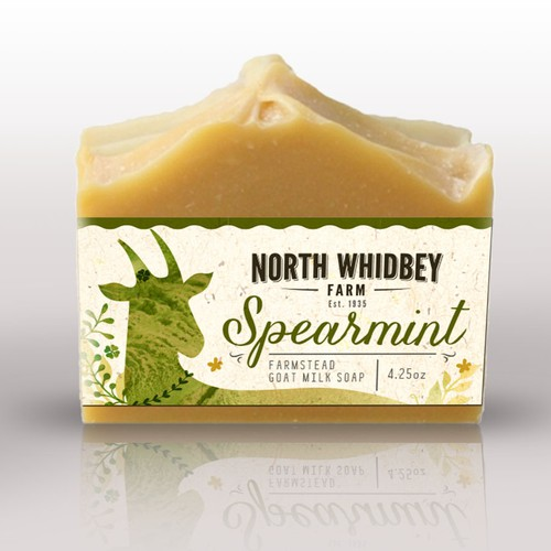 Create a striking soap label for our natural soap company with more work in the future Design von BrSav