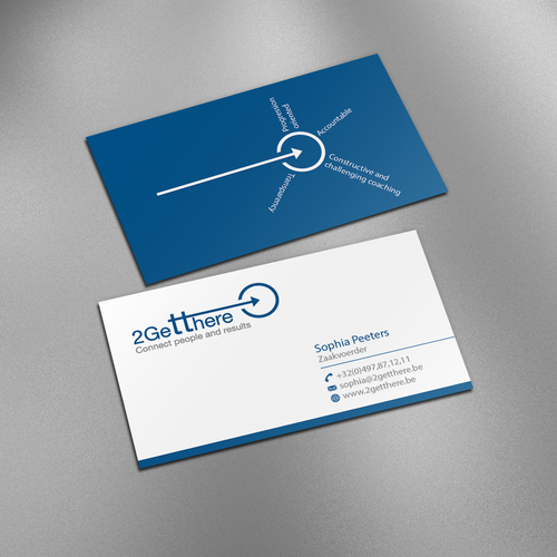 Create a catchy business card for a freelance manager for Catchy business cards
