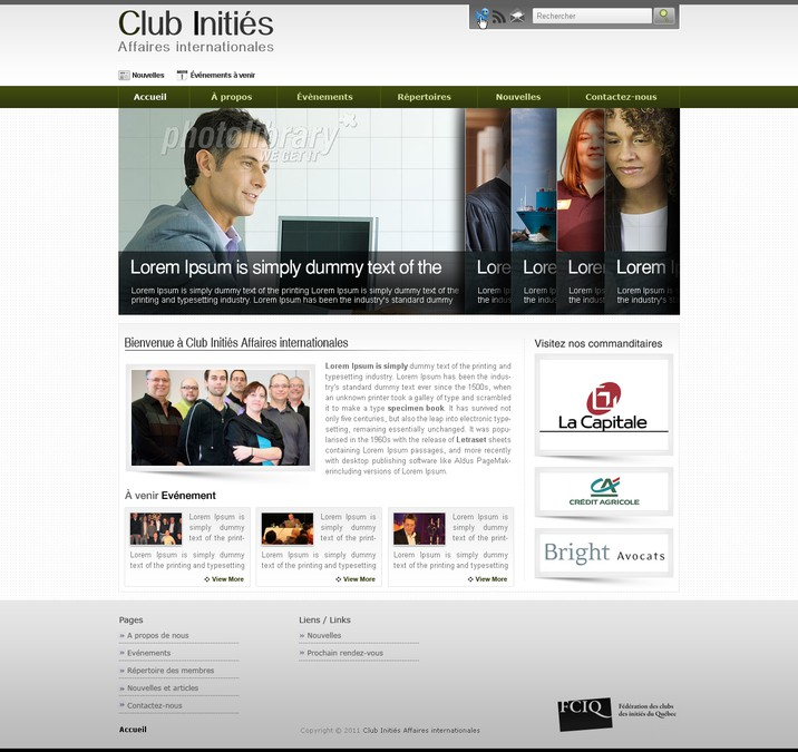 Gewinner-Design von DesignMyTemplate.com