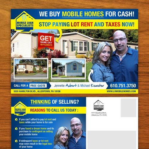 Mobile Loan Specialists needs a new postcard, flyer or print Ontwerp door Adwindesign