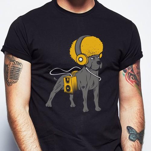 T-shirt designs for t-shirt company. Design by BRTHR-ED