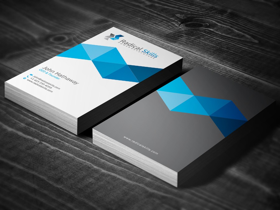 Business cards for internet startup | Business card contest