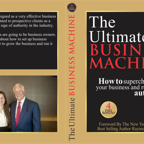 Business Book Cover Up ~ Create a professional and elegant book cover for