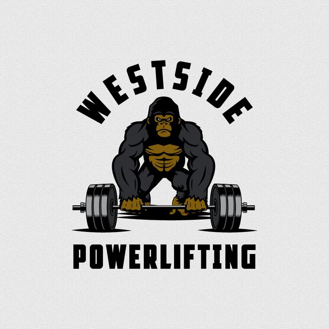 Westside Powerlifting Gorilla Logo  Something masculine