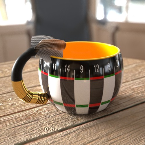Zweitplatziertes Design von Pomidorka