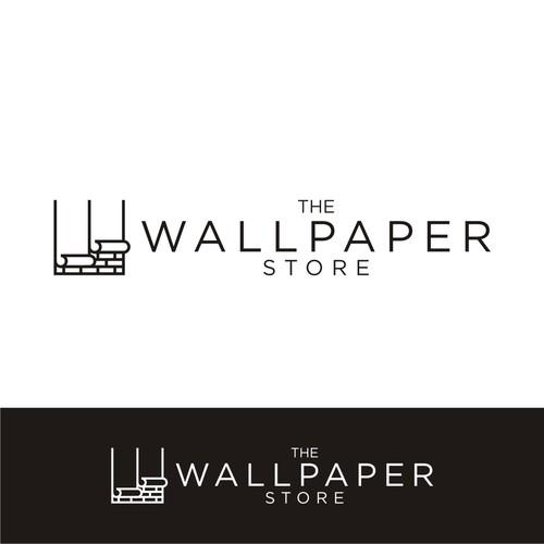 The Wallpaper Store Logo Design Contest 99designs