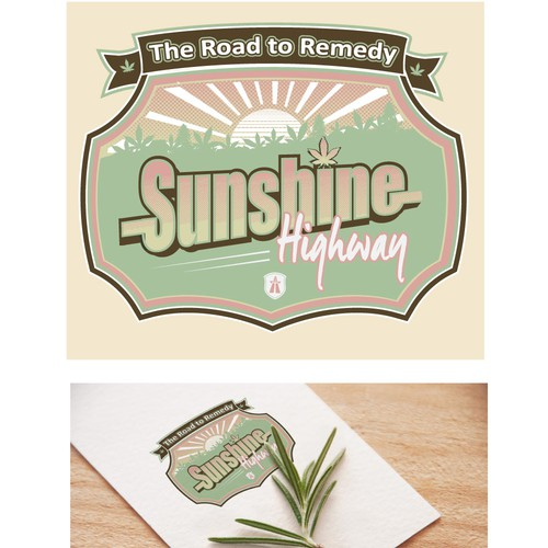 Runner-up design by Tomie O
