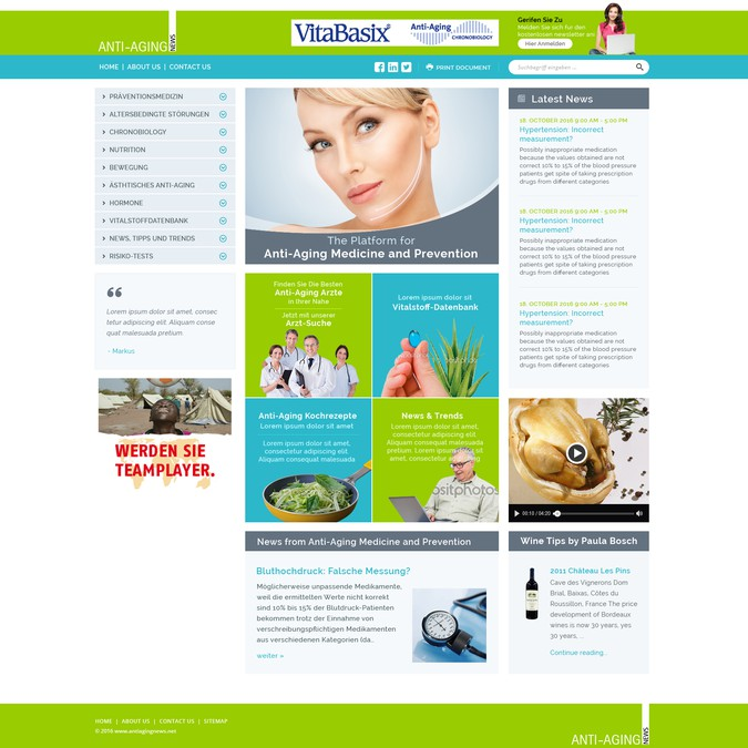 Winning design by Web Gateway