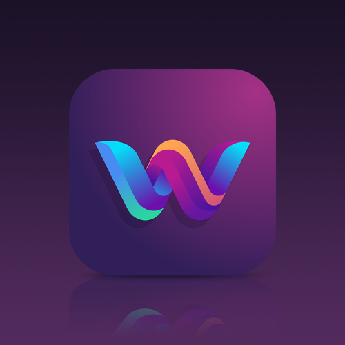Beautiful App Icon For An Iphone X Wallpaper App Concurso