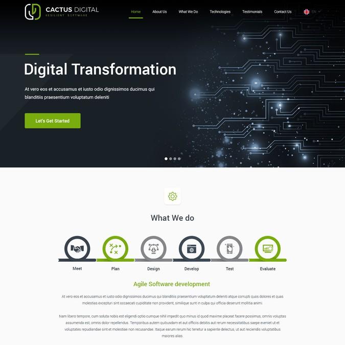 Winnend ontwerp van e2infinity