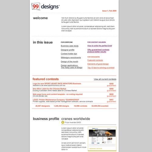 Meilleur design de 99ideas