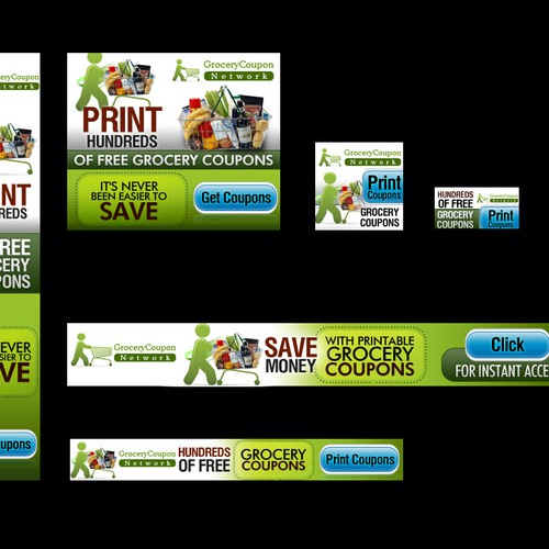 Ad Banner Project For Digital Grocery Coupon Site Banner Ad Contest 99designs