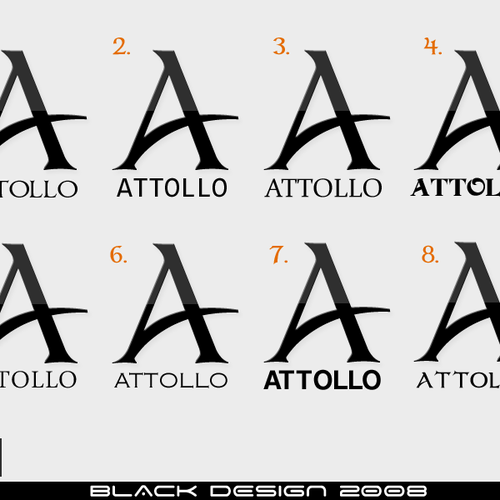 Design finalisti di BlackDesign