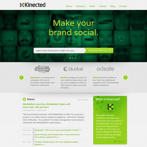 Diseño finalista de designjunkie